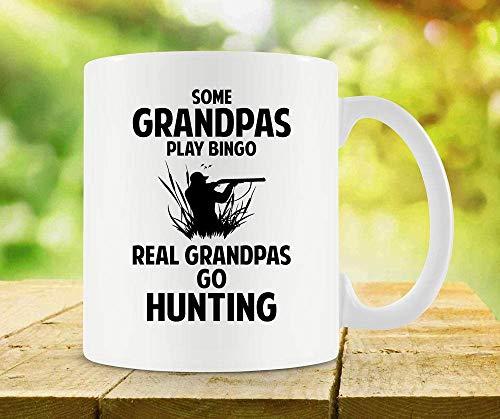 N\A Taza de Caza para Abuelo Regalo para el día del Padre Regalo para él Taza de Cazador Regalo de Abuelo Mejor Taza de café Taza de té Taza de cerámica - SA700