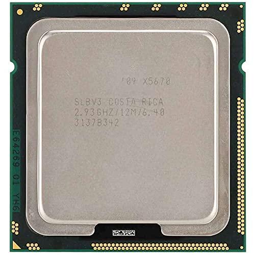 Yuyanshop CPU para Intel Xeon X5670 Six-Core Doce Hilos 12M 2.93GHz caché LGA1366 Versión oficial