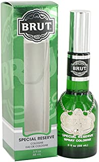 BRUT by Faberge Cologne Spray (Original-Glass Bottle) 3 oz