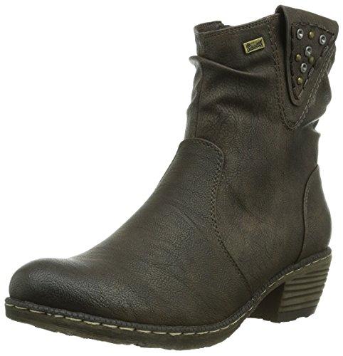 Rieker Damen 93782-26 Cowboy Stiefel, Braun (moro/26), 36 EU (3.5 Damen UK)