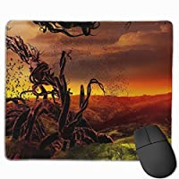 """Abstraction Sky Grass Green Nature Mouse Pad Non-Slip Rubber Gaming Mouse Pad Rectangle Mouse Pads for Computers Desktops Laptop 9.8"""" x 11.8"""""""