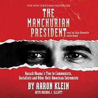 The Manchurian President audiobook cover art