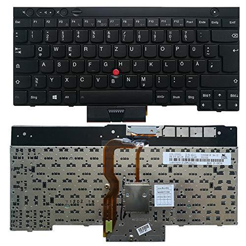 Neue deutsche Laptoptastatur FÜR Lenovo THINKPAD T530 T530i T430 T430s X230 W530 L430 L530 GR Tastatur schwarz ohne Hintergrundbeleuchtung