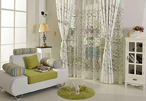cortinas salon modernas cortas