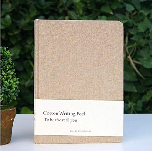 Cotton Times A5 Notebook Blank Inner Page Original Hardcover student Notepad travel school office supply A5 1