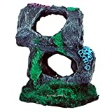 AQUAPETZWORLD Resin Aquarium Hideout Cave, Colorful Fish Tank Décor Ornaments Safe Decorations, Vivid