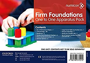 Numicon: Firm Foundations One to One Apparatus Pack