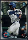 2016 Bowman Chrome Draft Refractor #BDC-191 Eloy Jimenez RC Rookie MLB Baseball Trading Card Chicago Cubs. rookie card picture