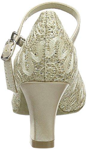 So Danca Bl166, Damen Tanzschuhe-Standard & Latein, Gold (Gold Sparkle), 36 EU (3.5 UK) - 3