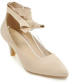 BalaMasa Womens APL12376 Pu Heeled Sandals