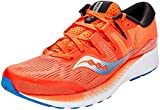 Saucony Ride ISO, Zapatillas de Running para Hombre, Naranja (Orange/Blue 36), 46 EU