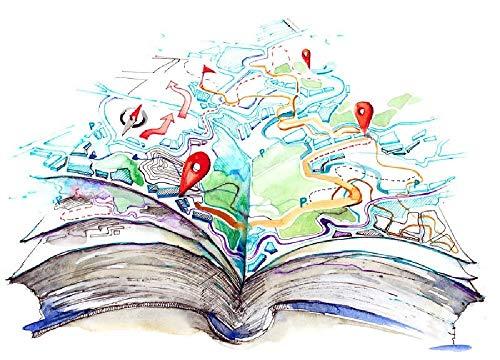 YFJSPTH Puzzle 1500 Teile, Puzzle Hölzern, 1500 Stück Spiel Puzzles für Erwachsene Kinder, Geschicklichkeitsspiel für die Ganze Familie-Libro