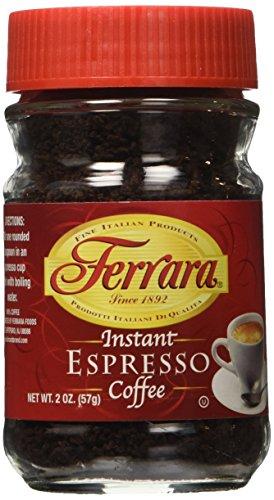 Ferrara Espresso Instant Coffee 2 oz set of 2