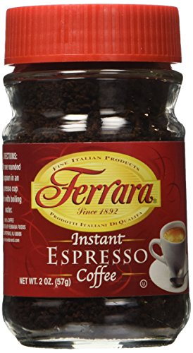 Ferrara Espresso Instant Coffee 2 oz set of 2