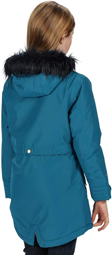 Regatta Honoria Waterproof Breathable Taped Seams Insulated Lined Hooded Parka Chaqueta Unisex ni/ños