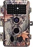 Zopu Trail Camera 20MP 1080P No Glow Night Vision, 0.2s Trigger Speed, Wildlife