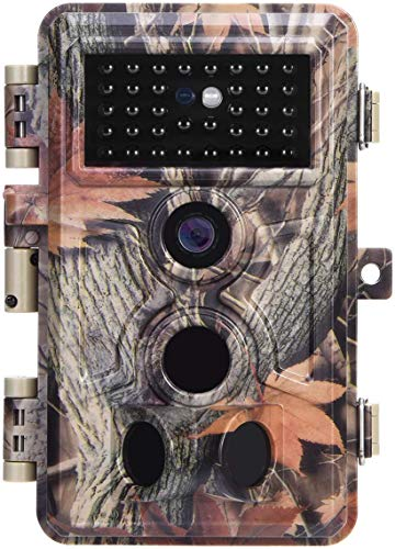 Zopu Trail Camera 20MP 1080P No Glow Night Vision, Game...