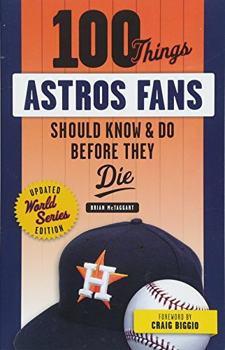 Houston Astros best fan gift ideas book
