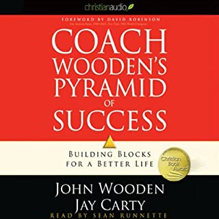 Coach Wooden's Pyramid of Success audiobook cover art