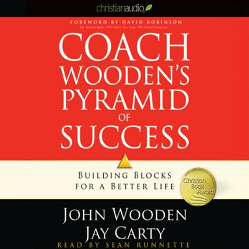 Coach Wooden's Pyramid of Success  By  cover art