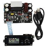 Jeanoko Regulador de Voltaje de 1.8 Pulgadas Fuente de alimentación regulada por microprocesador Estable y Duradero para electrónica