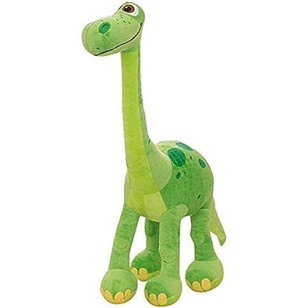 Miotlsy Giocattolo di Dinosauro farcito Peluche Ripiene Animale Morbido Morbido Cotone PP Giocattolo di Peluche Festa a casa Regalo per Bambini 30 Centimetro (Verde)