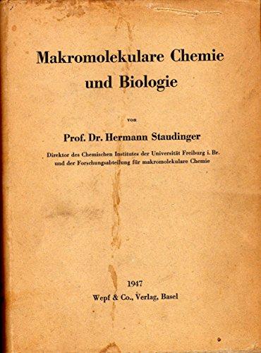 Makromolekulare Chemie und Biologie.
