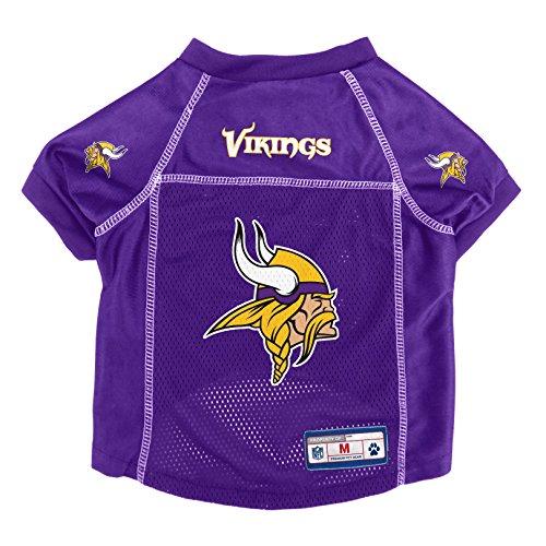 Littlearth NFL Minnesota Vikings Pet Jersey, Medium,Purple