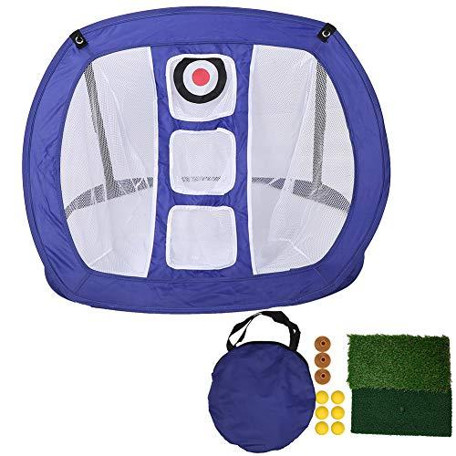 Cocoarm Golf Übungsnetz Indoor Golf Chipping Netz Golf Abschlagnetz Schlagnetze Chipping Putting Matte Driving Netz Golfnetz Golf Übungsset für Indoor Outdoor Sports