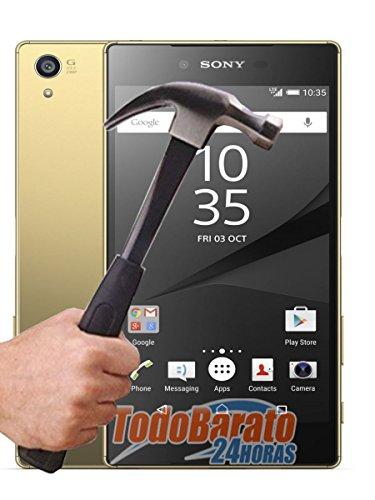 Todobarato24h Protector de Cristal Templado Compartible con Sony Xperia Z5 Premium