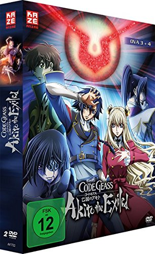 Code Geass: Akito the Exiled - OVA 3+4 - [DVD]