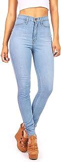 Vibrant Women's Juniors Classic High Waist Skinny Jeans