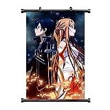 ALTcompluser Anime Sword Art Online Rollbild/Kakemono