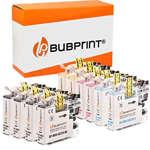 10 Bubprint Druckerpatronen kompatibel für Brother LC-223 LC-225 LC-227 XL für DCP-J4120DW DCP-J562DW MFC-J4420DW MFC-J4620DW MFC-J4625DW MFC-J480DW MFC-J5320DW MFC-J5620DW MFC-J880DW Multipack