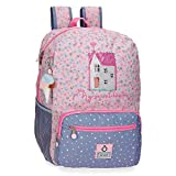 Enso My Sweet Home Mochila Portaordenador 15,6' Multicolor 32x42x15 cms Poliéster 20,16 L