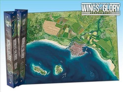 marcas de diseñadores baratos Wings of Glory  Coast Coast Coast Game Mat by Ares Games  Las ventas en línea ahorran un 70%.