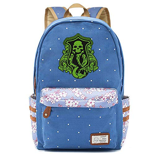 NYLY Ragazzi Canvas Daypacks Harry Potter Book Bag borsa spalla donna moda floreale zaino Medio S-17