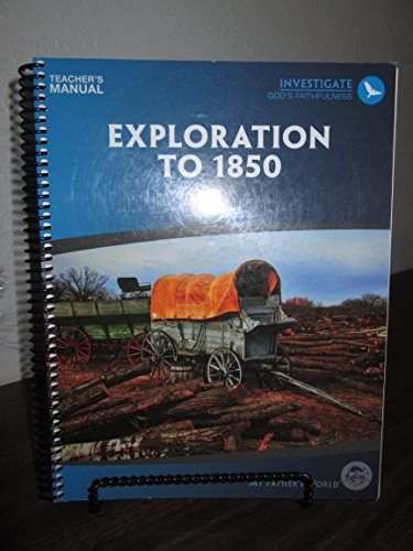 Exploration to 1850