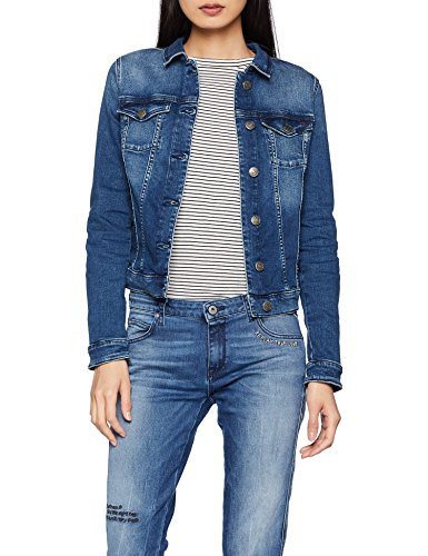 Tommy Jeans Dames Slim Denim Trucker Vivianne lange mouwen Jeansjas Denim Jacket
