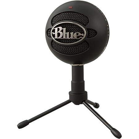 Blue Microphones Snowball iCE USB コンデンサー マイク Black スノーボール アイス ブラック BM200BK PC MAC PS4 USB ストリーミング 配信 ストリーマー テレワーク web会議 国内正規品 2年間メーカー保証