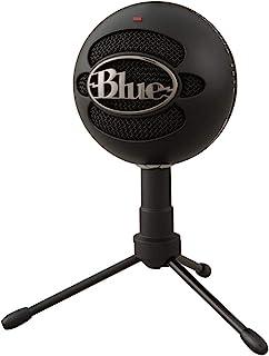 Blue Microphones Snowball iCE USB コンデンサー マイク Black スノーボール アイス ブラック BM200BK PC MAC PS4 USB ストリーミング 配信 ストリーマー テレワーク web会議 国内...