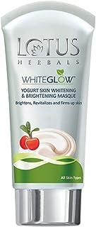 Lotus Herbals Whiteglow Yogurt Skin Whitening & Brightening Masque - 80 gm