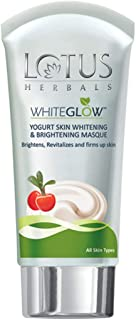 Lotus Herbals White Glow Yogurt Skin Whitening And Brightening Masque, 80g