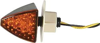 DMP LED Turn Signal - Fuse (Flush Mount) Black Frame/Smoke Lens