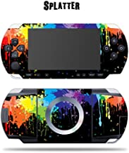 Mightyskins Protective Vinyl Skin Decal Cover Sticker Compatible with Sony PSP - Splatter