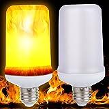 LED Feu Flamme Lumière, effet minkoll Simulation Natur mais oignons E279W Décor Lampe (B)