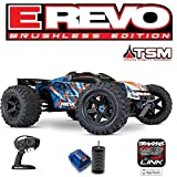 Traxxas E-REVO - 4x4 - 1/10 BRUSHLESS - TSM - sans AQ/CHG (Orange)