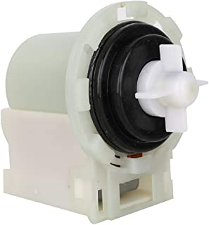 Hosom 8540024 Washing Machine Drain Pump Motor Replacement Part with Connected Wires and Rubber Seal Compatible with Whirlpool Kenmore Maytag Washer Replaces 8540025//W10130913//W10117829//W10730972