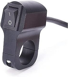 MADONGKJA Motorcycle Aluminum Alloy Switch Handle Switch Headlight Retro Switch Alarm Switch Two