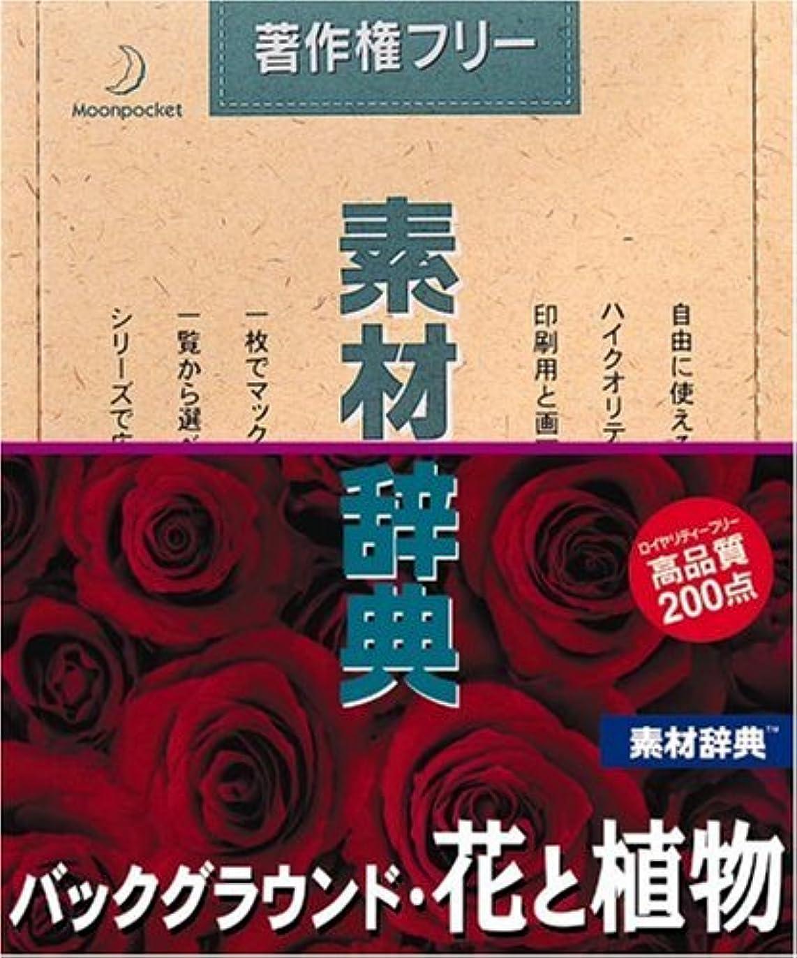 リンスインシデントブラシ素材辞典 Vol.91 バックグラウンド?花と植物編